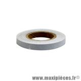 Autocollant/sticker/liseret gris argent pour jante et carrosserie rouleau de 10m largeur 3mm *Prix spécial !