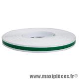 Autocollant/sticker/liseret vert pour jante et carrosserie rouleau de 10m largeur 3mm *Prix spécial !
