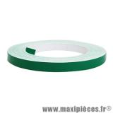 Prix spécial ! Autocollant/sticker/liseret vert pour jante et carrosserie rouleau de 10m largeur 6mm