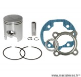 kit piston + pochette de joint adaptable a l'origine pour ovetto sr50 big max mbk mach-g pgo neos jog aprilia rally malaguti f10 f12 f15...