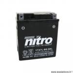 Batterie 12V 6ah NTX7L-BS AGM gel prêt a l'emploi sans entretien (dimension: Lg114xL71xH131)