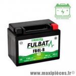Batterie 12v 5ah FB4L équivalente a une YB4L-B sans entretien activée en usine pour tous les 50cc dimension: lg120xl70xh92