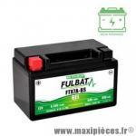 Batterie gel 12v 6ah FTX7A-BS (équivalente à une YTX7A-BS) prêt à l'emploi sans entretien (dimension: Lg150xL87xH93)