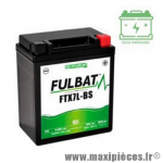 Batterie gel FTX7L-BS 12V 6 AH (équivalente à une YB9-B) prêt à l'emploi sans entretien  (dimension: Lg113 L70 H130)