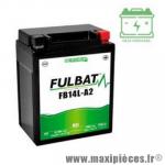 Batterie gel FB14L-A2 12V 14 AH (équivalente à une YB14L-A2) prêt à l'emploi sans entretien  (dimension: Lg135 L90 H167)