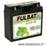 Batterie gel SLA 12V 18 AH prêt à l'emploi sans entretien  (dimension: Lg182 L77 H168)