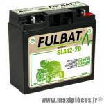 Batterie gel SLA 12V 20 AH prêt à l'emploi sans entretien  (dimension: Lg182 L77 H168)