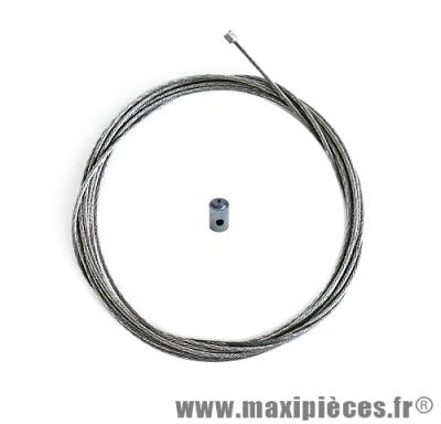 Câble de gaz universel+serre câble pour carburateur dellorto et adaptable