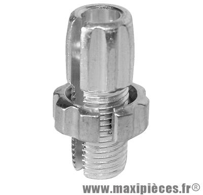 Prix spécial ! Vis creuse fendue alu pour réglage câble et gaine de poignée gaz M10X1.00