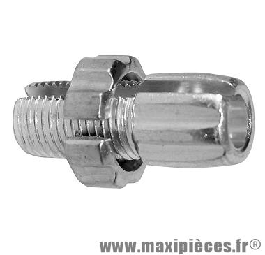 Prix spécial ! Vis creuse fendue alu pour réglage câble et gaine de poignée gaz M10X1.25