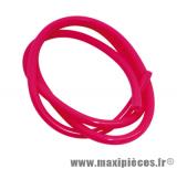 Durite d'essence Ø5mm rose fluo (1 metre) pièce pour Scooter, Mécaboite, Mobylette, Maxi Scooter, Moto, Quad