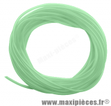 Durite de pompe a huile pour graissage séparé diamètre extensible (Vert translucide)
