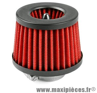 Filtre à air réacteur rouge Ø28/35mm