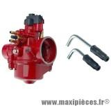 Carburateur type phbn 17,5 rouge pour cyclomoteur, scooter, mécaboite…
