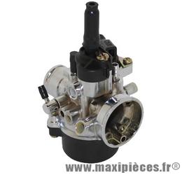 carburateur type phva chromé 17,5 pour mob scoot et mecaboite