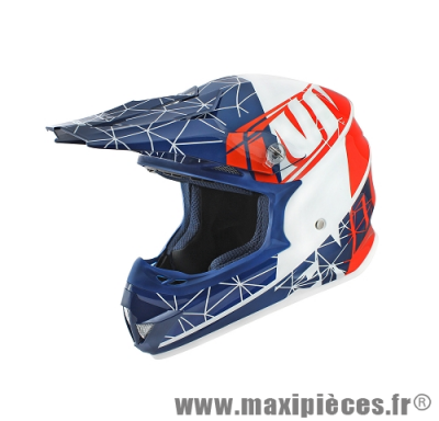 Casque cross Noend origami patriot taille XL (61-62 cm)