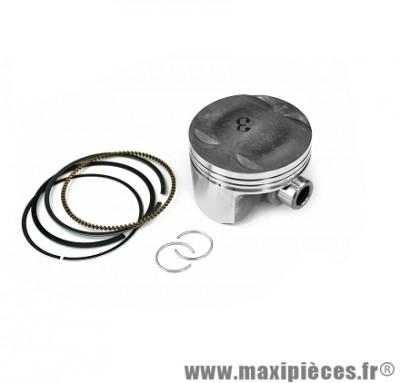Piston maxiscooter type origine pour mbk skycruiser yamaha x-max 125cc Ø52mm 2008> (qualité premium)