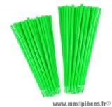 Couvre rayons 76 pièces couleur vert