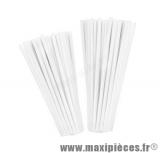 Couvre rayons 76 pièces couleur blanc