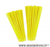 Couvre rayons 76 pièces couleur jaune