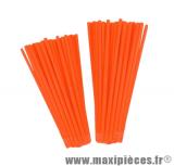 Couvre rayons 76 pièces couleur orange