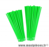 Couvre rayons 76 pièces couleur vert