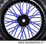 Couvre rayons 76 pièces couleur bleu