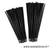 Couvre rayons 76 pièces couleur noir