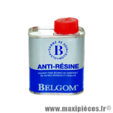 Belgom anti-resine 150ml solvant pour nettoyage carrosserie et vitre *Prix spécial !