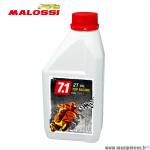 Huile Malossi 7.1 top racing compétition 100% synthèse pour moteur 2 temps moto, 50 à boite, scooter, cyclomoteur et autre