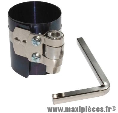Outil compression des segments de piston pour moteur 4 temps (Ø40 à 80mm)