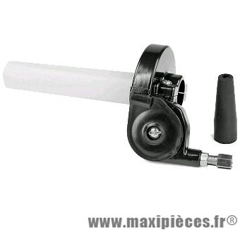Poignée de gaz tirage rapide plastique noir