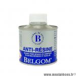 Belgom anti-resine 150ml solvant pour nettoyage carrosserie et vitre