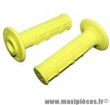 Jeu de poignées progrip 794 jaune fluo (paire)
