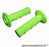 Jeu de poignées progrip 794 vert fluo (paire)