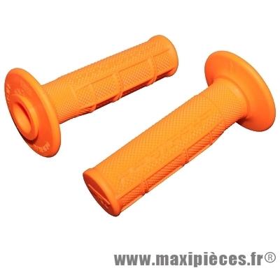 Jeu de poignées progrip 794 orange fluo (paire)