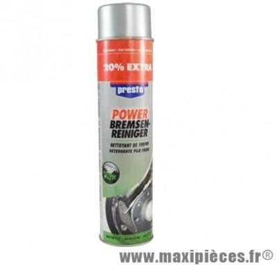 Spray néttoyant frein aérosol de 600ml