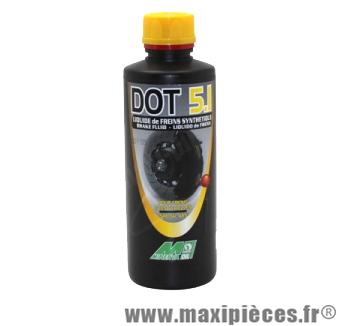 Destockage ! Liquide de frein Minerva brake fluide dot 5.1 Racing (500ml)