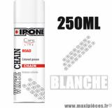 Sprays/graisse à chaîne lubrifiants ipone white chain (250ml) couleur blanche *Déstockage !