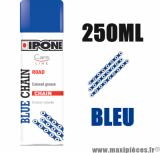 Sprays/graisse à chaîne lubrifiants ipone blue chain (250ml) couleur bleu *Déstockage !