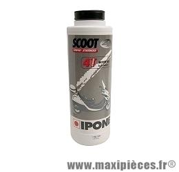 huile moteur scoot 4 ipone 10w40 semi-synthèse 4t pour scooter moto…(1 litre)