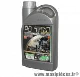 Huile moteur 4 temps 10w40 Minerva pour moto (bidon de 1L)