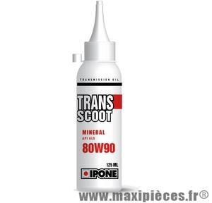 huile de transmission transcoot ipone tous scooters 2t dosette de 125 ml
