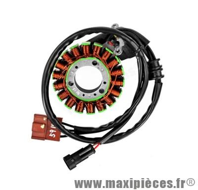Stator allumage pour Piaggio MP3 400/500cc, X8, X9, X10, XEvo, Berverly…(OEM 58108R)