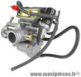 carburateur  carbu adapt 4t maxi scooter chinois 125 cc 152 qmi