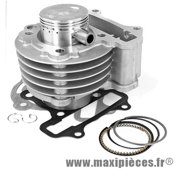 kit cylindre piston type origine pour funny gas 4T gy6 80cc (Ø47)
