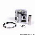 Piston diamètre 57,5 axe 14mm pour kit cylindre piston Malossi en fonte référence 3111374 Mbk booster 100cc *Prix spécial !
