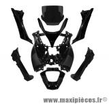 Prix spécial ! Kit carrosserie carénage noir brillant pour Piaggio MP3 de 2008 à 2013
