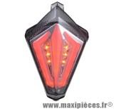 Feu arrière fumé à leds pour Yamaha 530 T-Max et YZF-R1 07-08