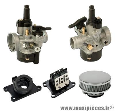 Pack carburation racing pour motorisation minarelli am6 aprilia rs rx 50 peugeot xp6 xps yamaha tzr ...